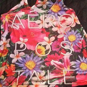 Aeropostale floral tank top